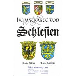 Heimatkarte Schlesien