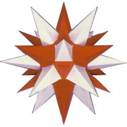 Herrnhuter Stern A4 weiß