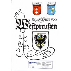 Heimatkarte Westpreußen