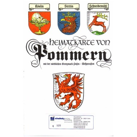 Heimatkarte Pommern